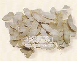西洋参饮片(栽培种洋参,市场流通的商品)
